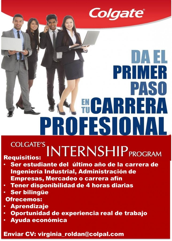 Colgate Internship Program