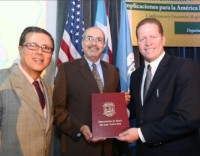 The Department of State of Puerto Rico recognizes the trajectory of President José Jaime Rivera.