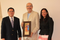 HETS presents special recognition and appreciation to President José Jaime Rivera's on his Farewell during the HETS Board Meeting, June 2014.