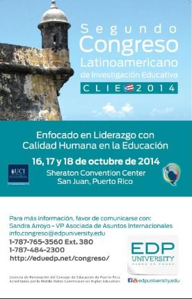 EDP University presenta: Segundo Congreso Latinoamericano de Investigación Educativa