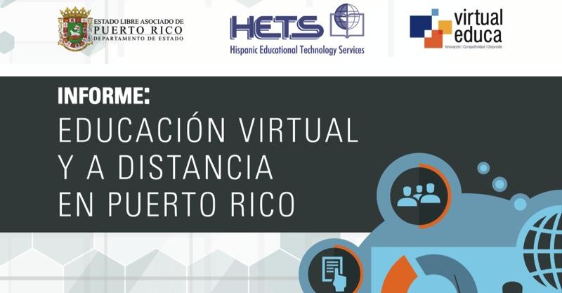 Informe: Educación Virtual y a Distancia en Puerto Rico