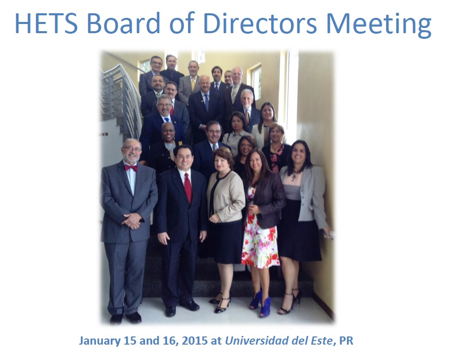 Board members celebrated its winter meeting along with three concurrent events.