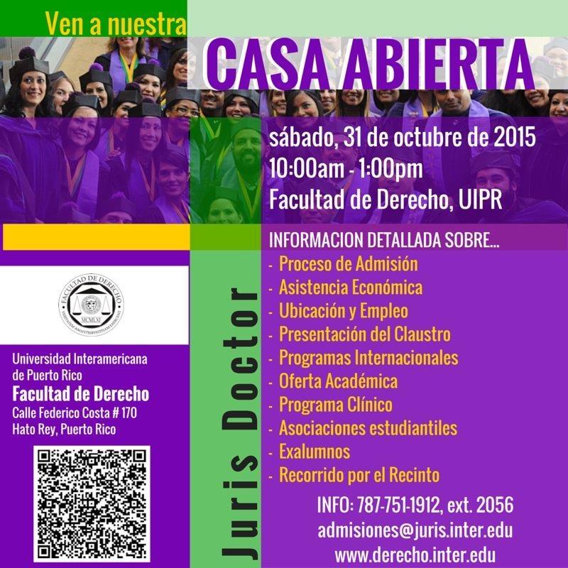 Casa Abierta (promo para Redes)Oct2015