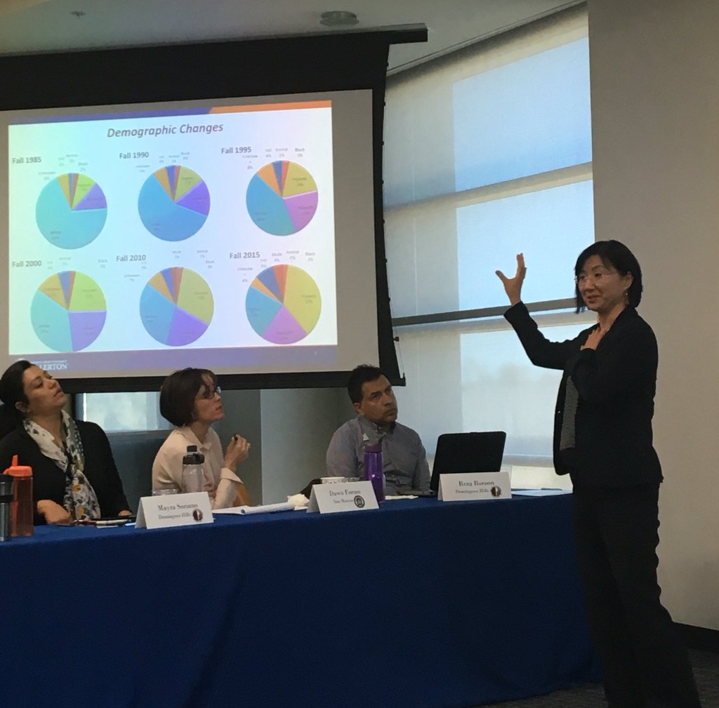 Best Practices to Support the Success of Latino Student Event Gathered HETS Experts from Member Institutions in the West Coast-