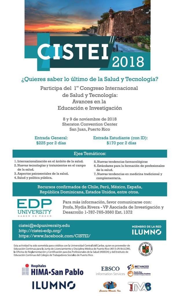 Primer Congreso Internacional de Salud y Tecnología: Avances en Educación e Investigación (CISTEI)